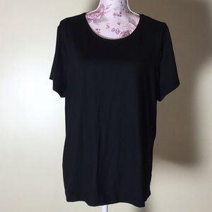 East 5th Black Short-Sleeve Top - Size 2X (New!)